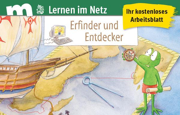 """Ihr kostenloses Arbeitsblatt aus der Reihe """"Lernen im Netz"""""""