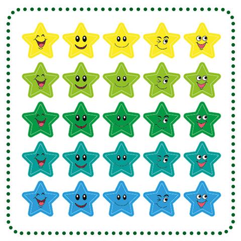 Sticker: Sternchen