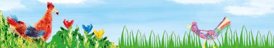 Frühlingsbasteln