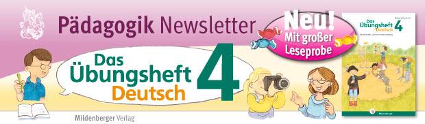 Das Übungsheft Deutsch 4