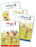 Das Übungsheft Deutsch 1 bis 4