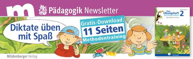 Diktate üben mit Spaß: mit sinnvollem  Methodentraining im Gratis-Download
