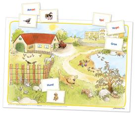 Inklusion im Anfangsunterricht: Poster und Bild-/Wortkarten