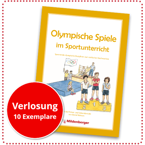 """Verlosung """"Olympische Spiele im Sportunterricht"""""""