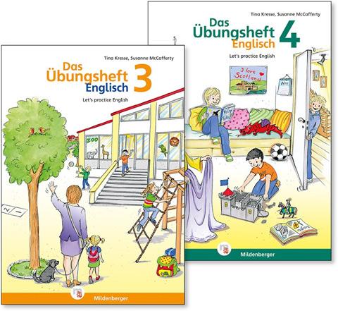 Das Übungsheft Englisch 3 und 4
