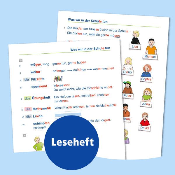 Anschluss finden Deutsch – Leseheft
