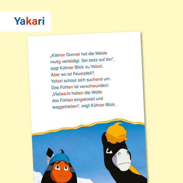 Leselernstars: Yakari