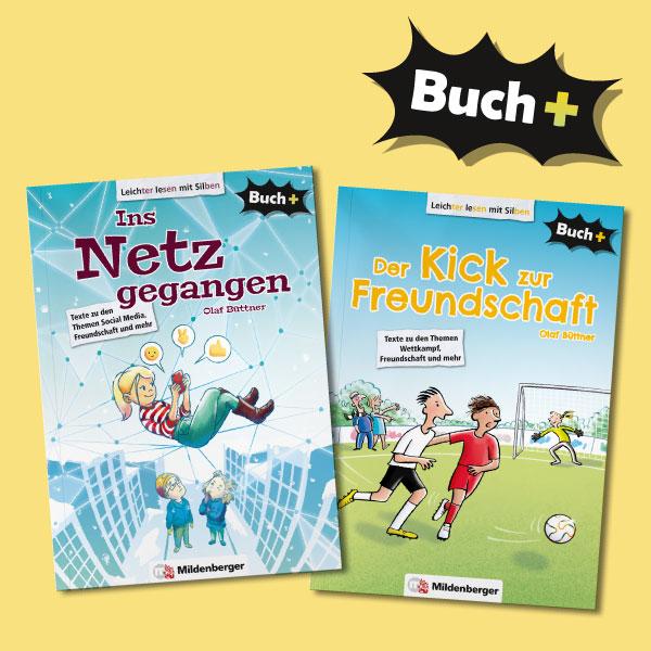 Buch+ – zwei neue Bände
