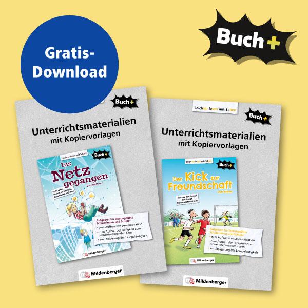 Buch+ – neue Unterrichtsmaterialien