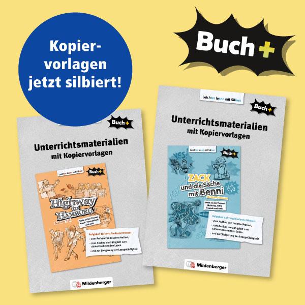 Buch+ – Unterrichtsmaterial Band 1 und 2